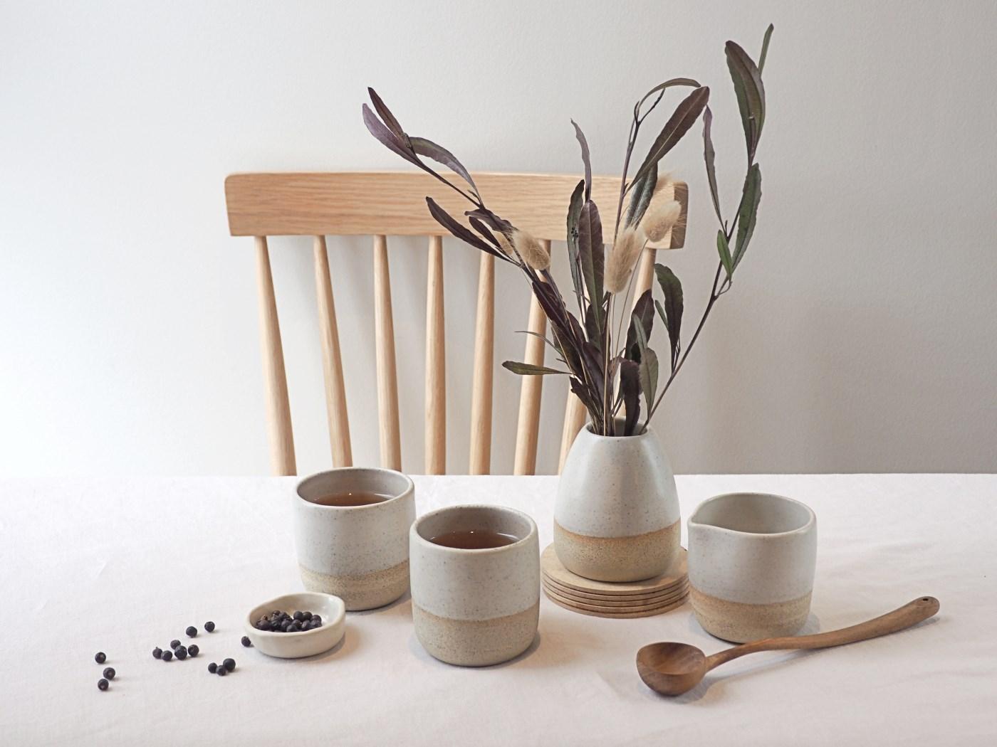 Hunter and the fox handmade ceramics australia melbourne pottery