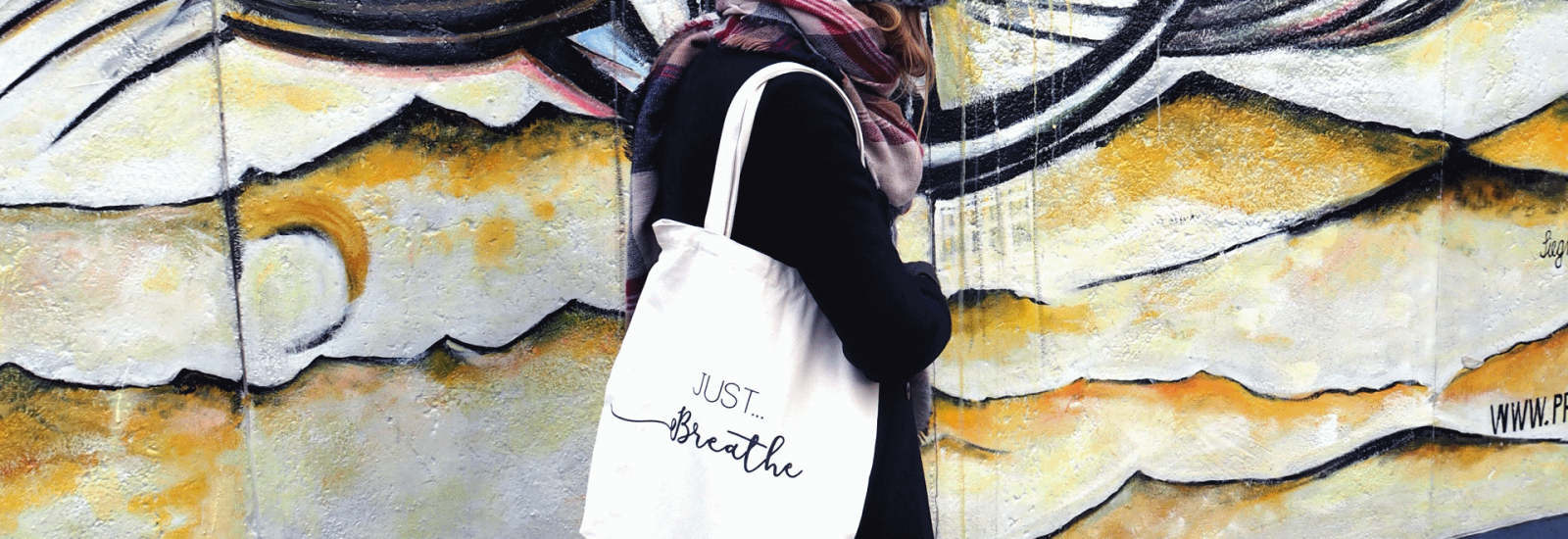 Hunter and the fox banner image just breathe tote bag2